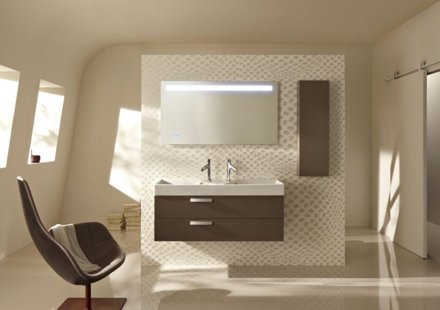 Une salle de bains au style vintage et épuré
