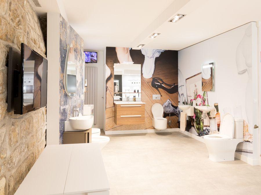 Showroom Jacob Delafon à Paris, rue de bourgogne