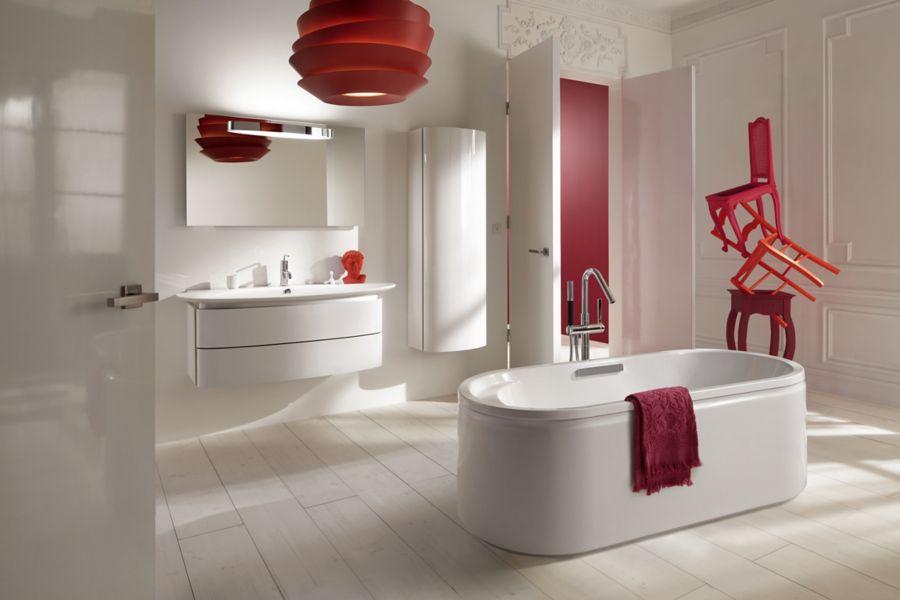 Une salle de bains Presqu'ile