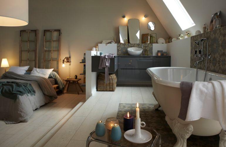 Comment aménager une salle de bains sous les combles ?