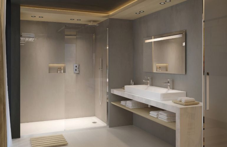 Comment faire une salle de bains en sous-sol?
