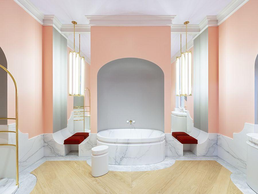 La salle de bains ALexis Mabille pour Jacob Delafon