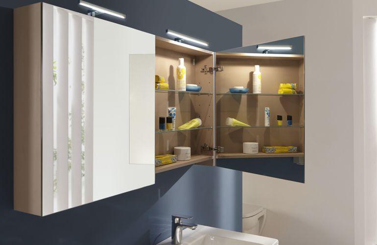 Besoin de rangement dans la salle de bains ? Pensez aux meubles complémentaires !