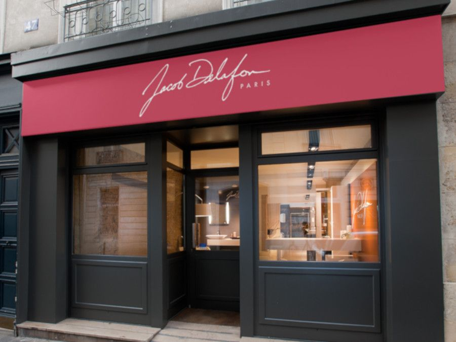 Showroom Parisien de Jacob Delafon, rue de bourgogne