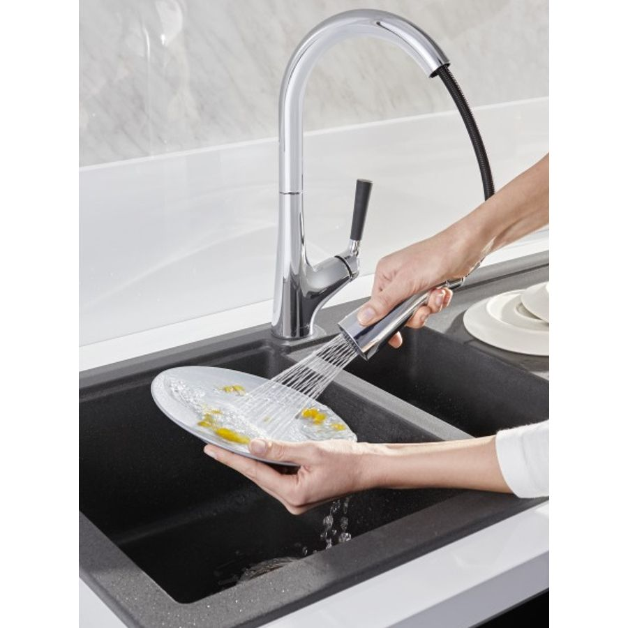 La robinetterie de cuisine pour économiser de l'eau