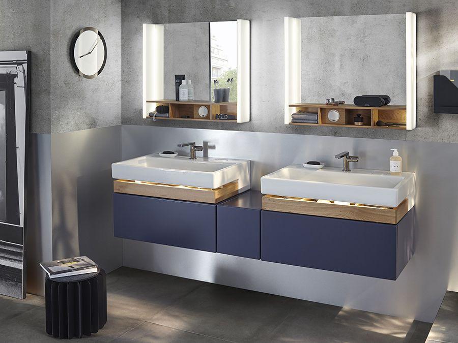 Meuble de salle de bains avec rétroéclairage