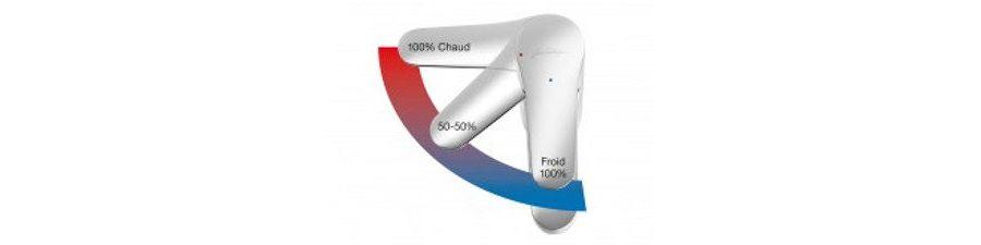 Un mitigeur C3 permet une importante économie d'eau et d'énergie