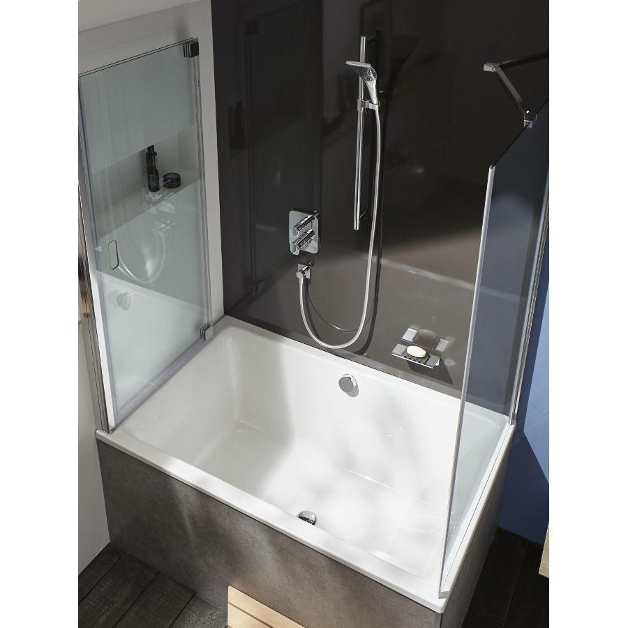 Installation encastrée d'un robinet de bain-douche