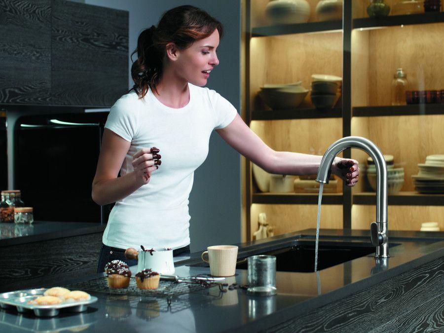 Le robinet de cuisine Sensate
