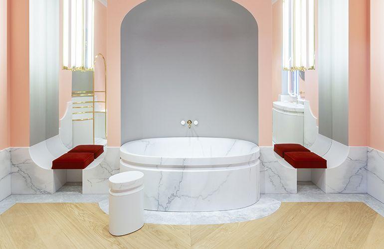 L'esprit du bain - La salle de bains Alexis Mabille x Jacob Delafon