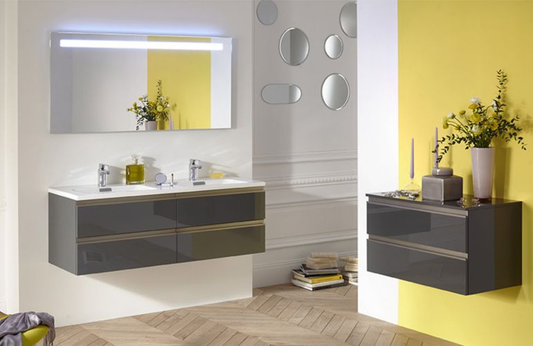 Salle de bains : les couleurs tendance