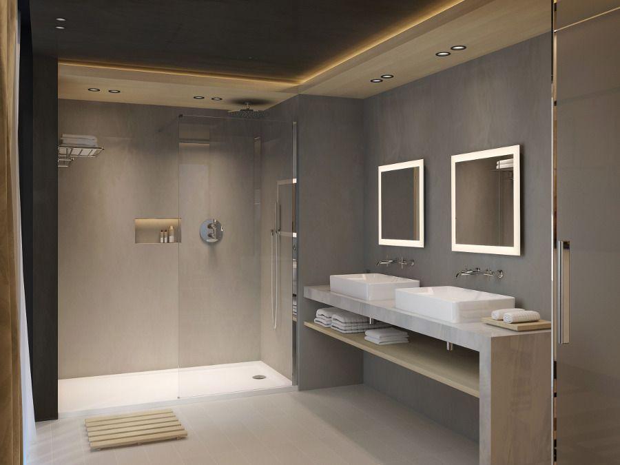 Une salle de bains sans fenêtre mais avec VMC
