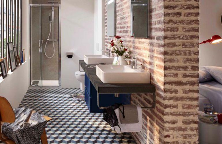 Le vintage dans la salle de bain