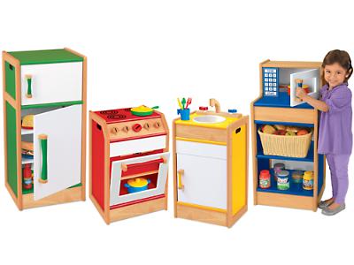 Wooden Kitchen Set For Preschool