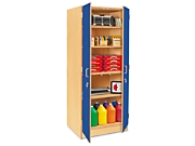 touch of color locking storage cabinets