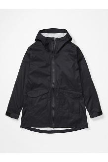 Women's Ashbury PreCip Eco Jacket, Black, medium