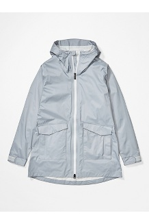 Women's Ashbury PreCip Eco Jacket, Sleet, medium