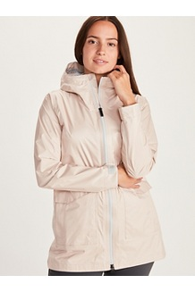 Women's Ashbury PreCip Eco Jacket, Mandarin Mist, medium