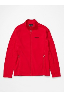 Men's Rocklin Full Zip Jacket, Team Red, medium