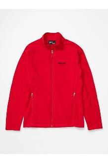 Men's Rocklin Full Zip Jacket, Team Red, medium