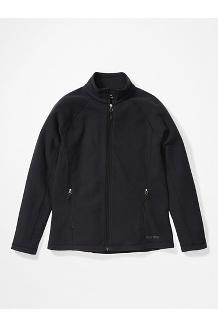 Women's Rocklin Full Zip Jacket, Black, medium
