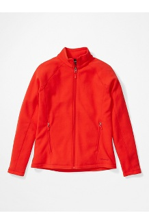 Women's Rocklin Full Zip Jacket, Victory Red, medium