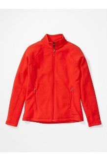 Women's Rocklin Full Zip Jacket, Victory Red, medium