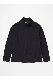 Women's Rocklin ½ Zip Jacket, Black, medium