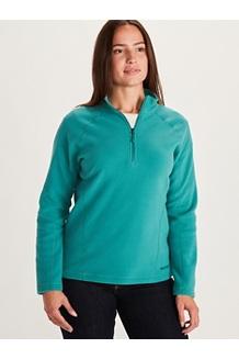 Women's Rocklin ½ Zip Jacket, Deep Jungle, medium