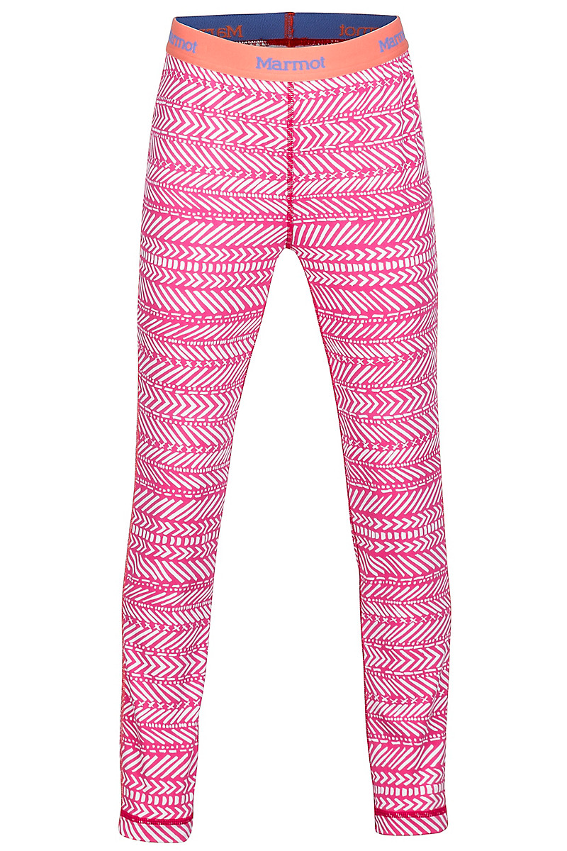 Girl's Lana Tight, Bright Ruby Arrows, large