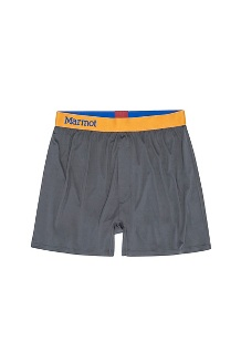 Men's Performance Boxers, Slate Grey, medium