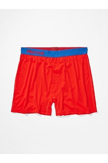 Men's Performance Boxers, Victory Red, medium