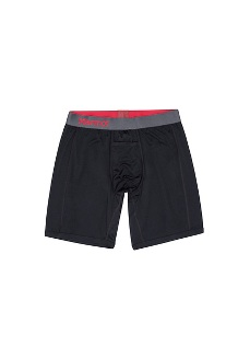 Men's Performance Boxer Brief - 8-inch, Black, medium