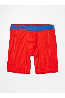 Men's Performance Boxer Brief - 8-inch, Victory Red, medium