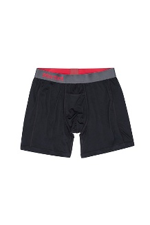 Men's Performance Boxer Brief - 6-inch, Black, medium