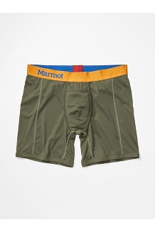 Men's Performance Boxer Brief - 6-inch, Crocodile, medium