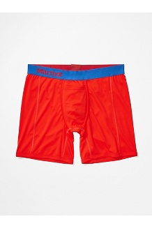 Men's Performance Boxer Brief - 6-inch, Victory Red, medium