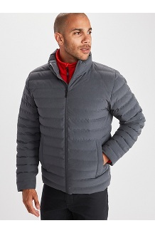 Men's Perry Jacket, Steel Onyx, medium
