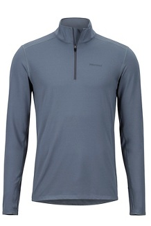 Men's Midweight Harrier 1/2-Zip, Steel Onyx, medium