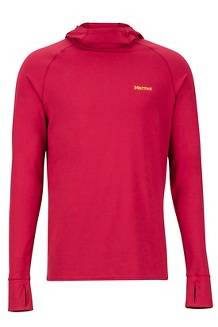 Midweight Harrier Hoody, Sienna Red, medium