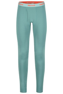 Men's Midweight Harrier Tights, Mallard Green, medium