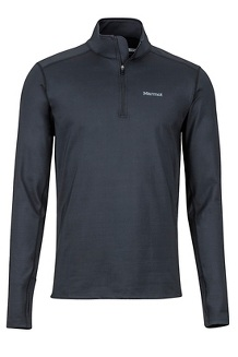 Men's Heavyweight Morph 1/2-Zip, Black, medium