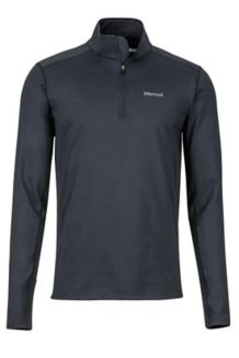 Heavyweight Morph 1/2 Zip, Black, medium