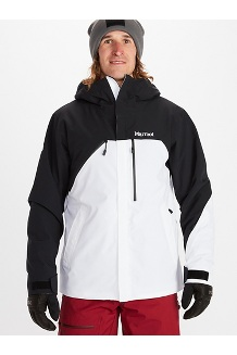 Men's Torgon Jacket, Black/White, medium