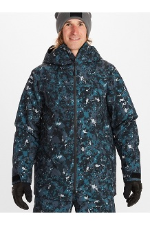 Men's Hovden Jacket, Snow-Ridge Camo, medium