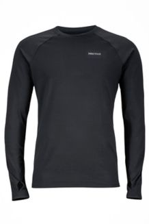 Harrier LS Crew, Black, medium