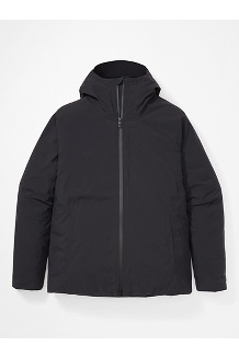 Men's WarmCube EVODry Parka, Black, medium