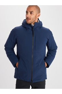 Men's WarmCube EVODry Parka, Arctic Navy, medium