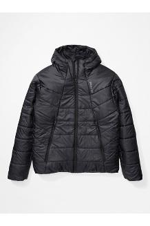 Men's WarmCube Featherless Hoody, Black, medium