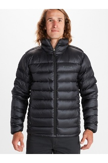 Men's Hype Down Jacket, Black, medium